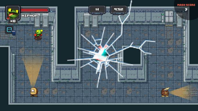 SuperMash is a game that is a mixture of immediately heaps of various genres