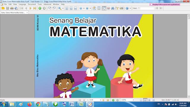 Buku Siswa Matematika Kelas 6 SD Kurikulum 2013 Revisi Terbaru Format Pdf