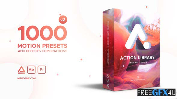 Videohive – Action Library Motion Presets Package