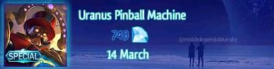 Uranus Pinbal Machine