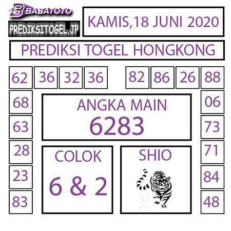 Prediksi Babatoto HK Malam Ini 18 Juni 2020