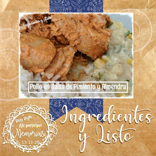 ingredientes y listo