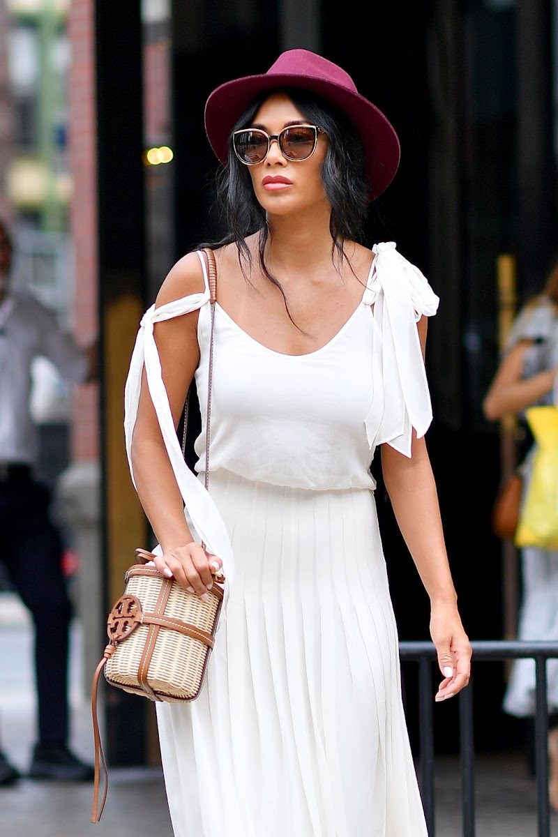 Nicole Scherzinger Clicked Outside in New York 8 Sep-2019