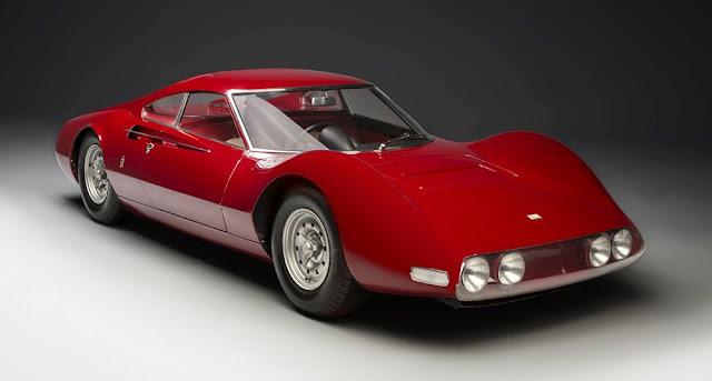1965 Pininfarina Dino Berlinetta Speciale Prototype - #Pininfarina #Dino #Berlinetta #Speciale #Prototype #ferrari #classiccars #cars