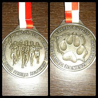 Medal Bieg tropem Wilczym