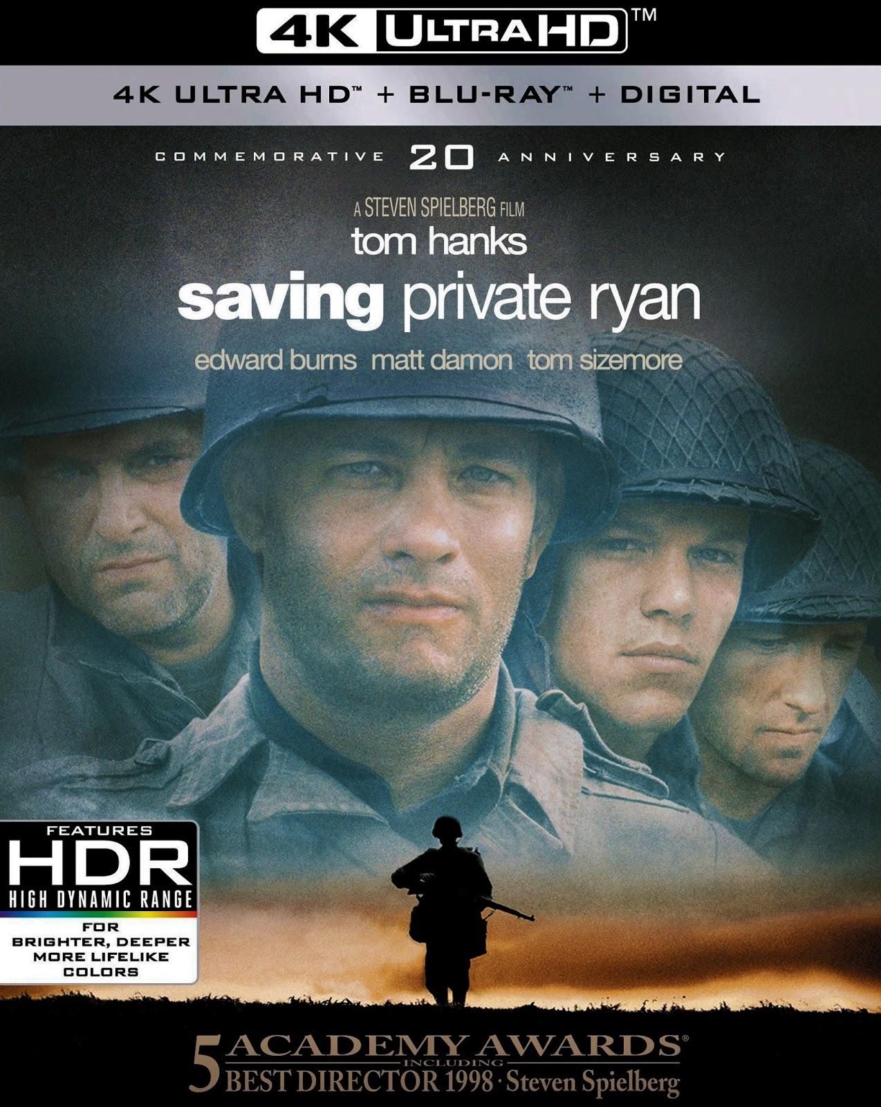 Saving Private Ryan 4k Blu Ray Dreamworks 1998 Paramount Home Video