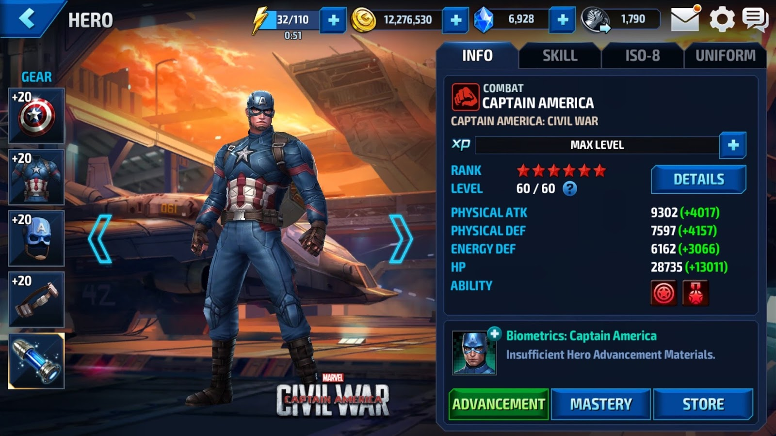 laydogs leisures marvel future fight roster