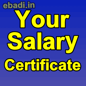 How to download salary slip/certificate latest monthly pay slip