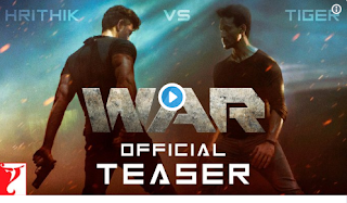 New bollywood upcoming movie, war realese date?