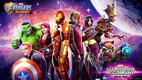 تحميل MARVEL Avengers Academy مهكرة
