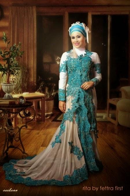 Kumpulan Foto Model Baju Kebaya Hijau Tosca Kebaya Model Baru