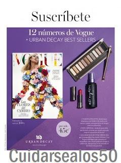 Revista Vogue Cuidarsealos50
