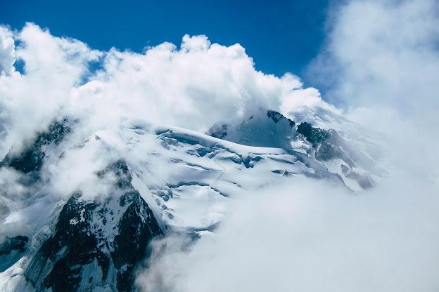 Aiguille du Midi, Chamonix Mont Blanc, Mont Blanc, Francie