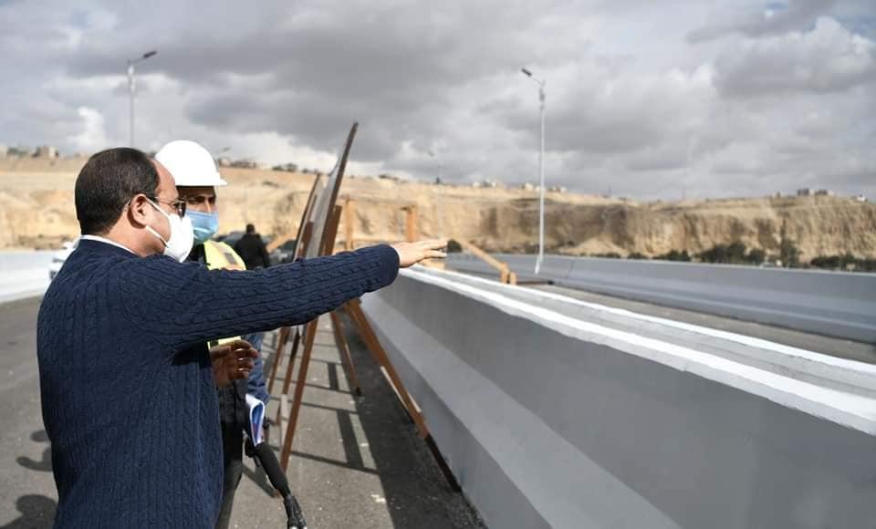 """مسئولو """"الإسكان"""" يتفقدون مشروع عمارات """"السلام"""" بمدينة العبور"""