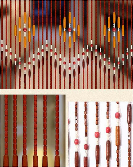 wooden beaded curtains online india amazon NZ