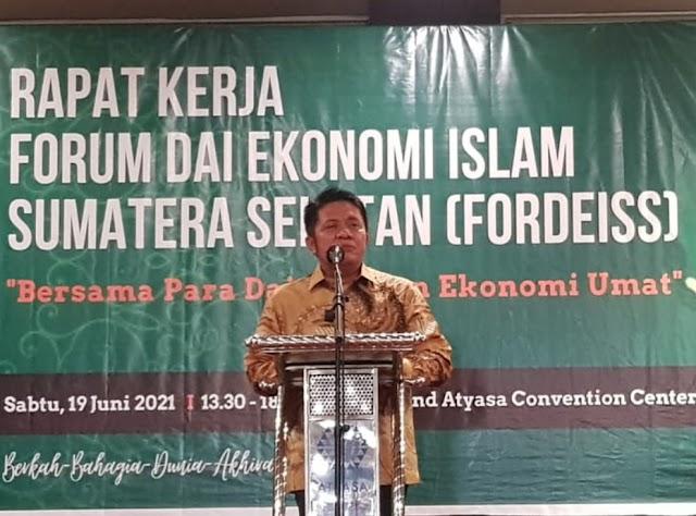 Gubernur Sumsel, Hadiri Pelantikan dan Pengukuhan FORDEIS Sumsel