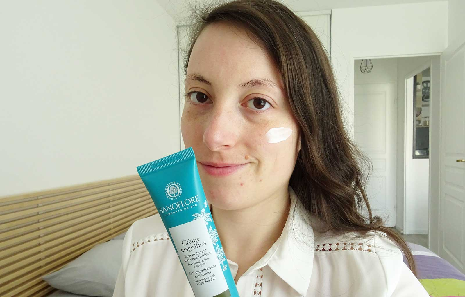 soins anti-imperfection Magnifica Sanoflore crème hydratante