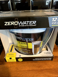 ZeroWater filter in packaging