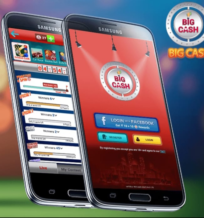 Real Cash By Simple Online Playing Games On Big Cash Pro App in India  2020