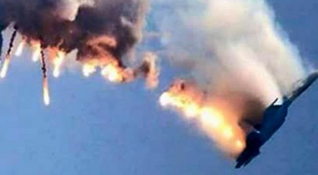 El ejercito turco derrivó un avión ruso Su_3