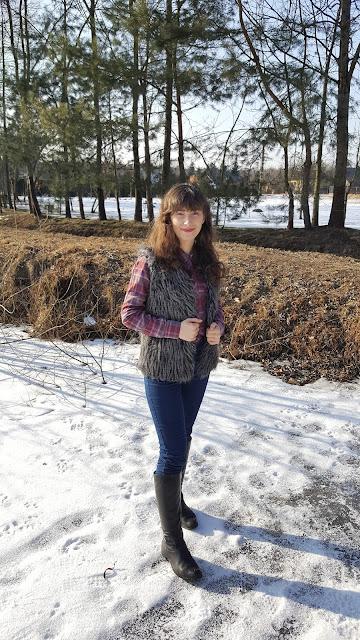 kamizelka na zime