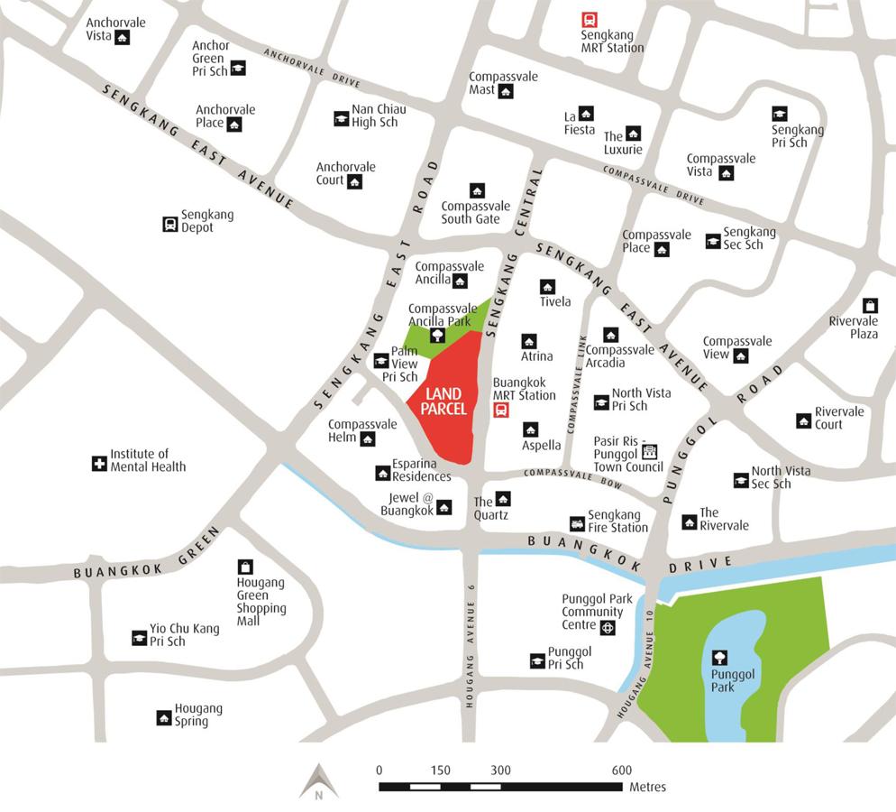 Sengkang Grand Residences - Location Map
