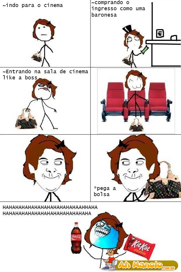 Indo no cinema