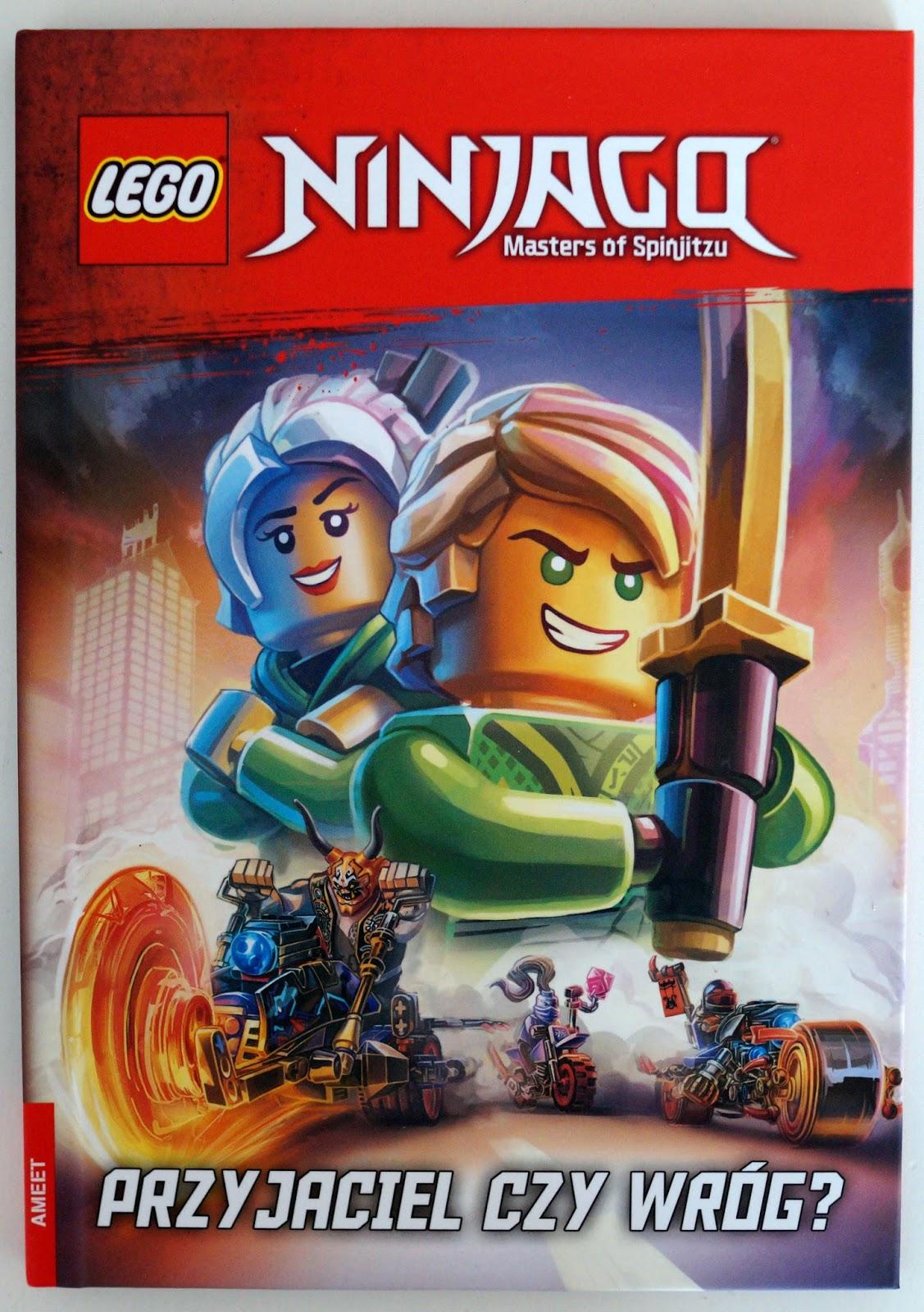 Lego City I Lego Ninjago Książeczki Pełne Aktywności Schwytane