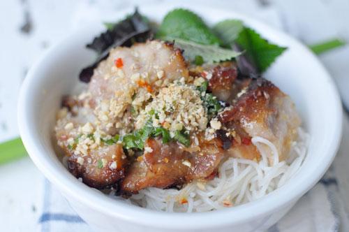 Vietnamese RestaurantStyle Grilled Lemongrass Pork Thit