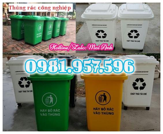 Thùng rác nhựa HDPE có bánh xe, thùng rác nhựa COMPOSITE