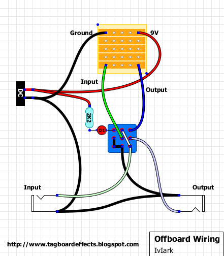 Guitar FX Layouts: Offboard wiring