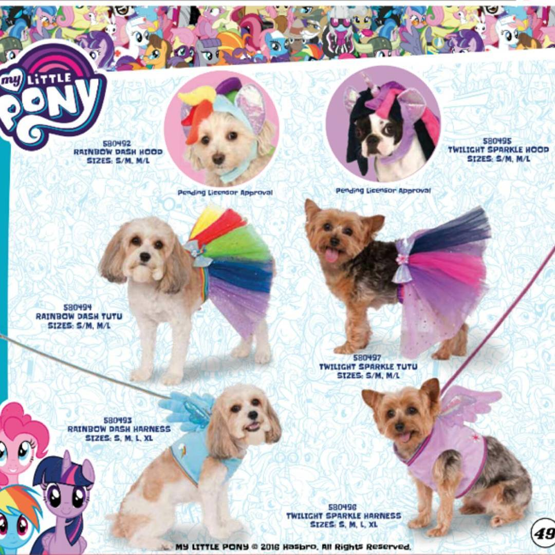 Official My Little Pony... Dog Costumes Are Now a Thing  sc 1 st  Equestria Daily & Equestria Daily - MLP Stuff!: Official My Little Pony... Dog ...