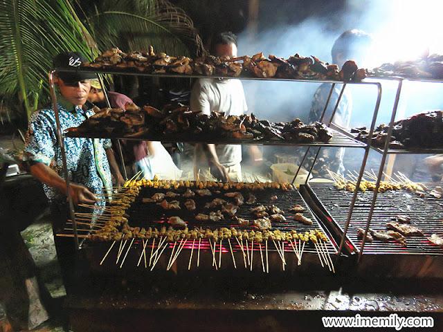 Pulau Besar Johor bbq dinner