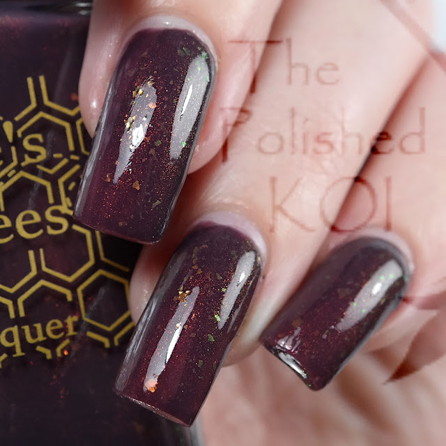 Bee's Knees Lacquer - The Purple