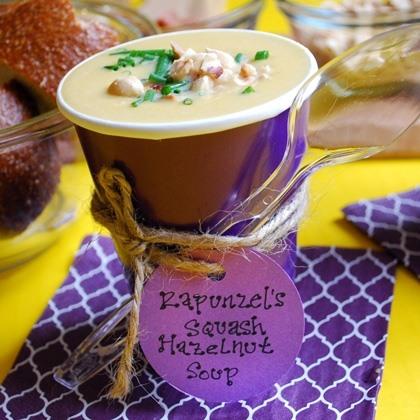 Rapunzel's Squash & Hazelnut Soup