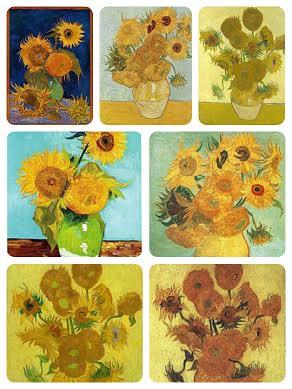 Lukisan Sunflowers Karya Van Gogh