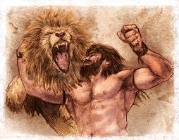 leo - O leão e o bicho-homem – por Moisés António