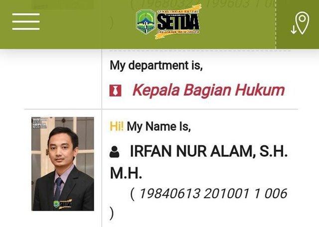 Irfan Nur alam
