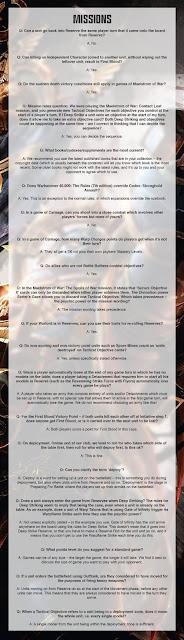 FAQ 40k