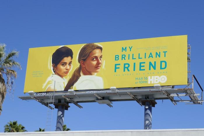Mt Brilliant Friend season 2 billboard