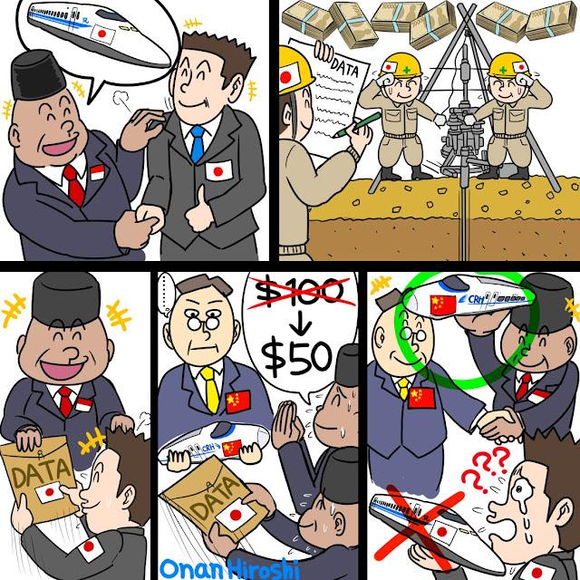Gambar Komikus Jepang Hina Presiden Jokowi