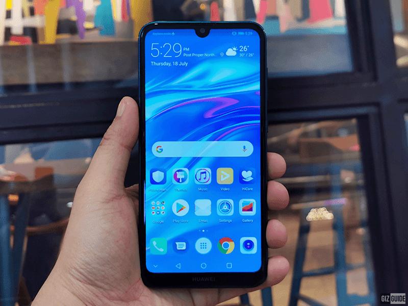 Y7 Pro 2019's tiny notch