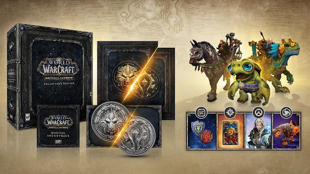 La expansión Battle for Azeroth de World of Warcraft llegará el 14 de agosto