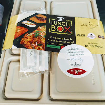 Lunch box at banquets in country inn and suites by Radisson Navi Mumbai