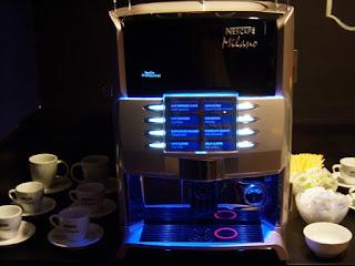 Cafés e bebidas quentes no Lounge Azul