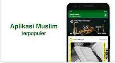 Aplikasi Waktu Sholat - Muslim Pro