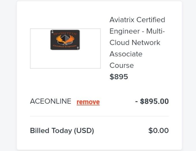 Aviatrix Certified Engineer [Free Online Course] - TechCracked