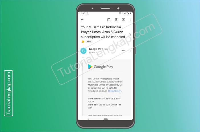 Tutorialengkap.com  6 cara berhenti berlangganan layanan aplikasi berbayar dari google pay store