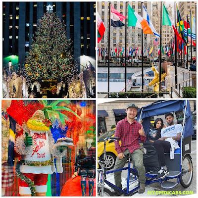 Christmas Lights Pedicab Tours