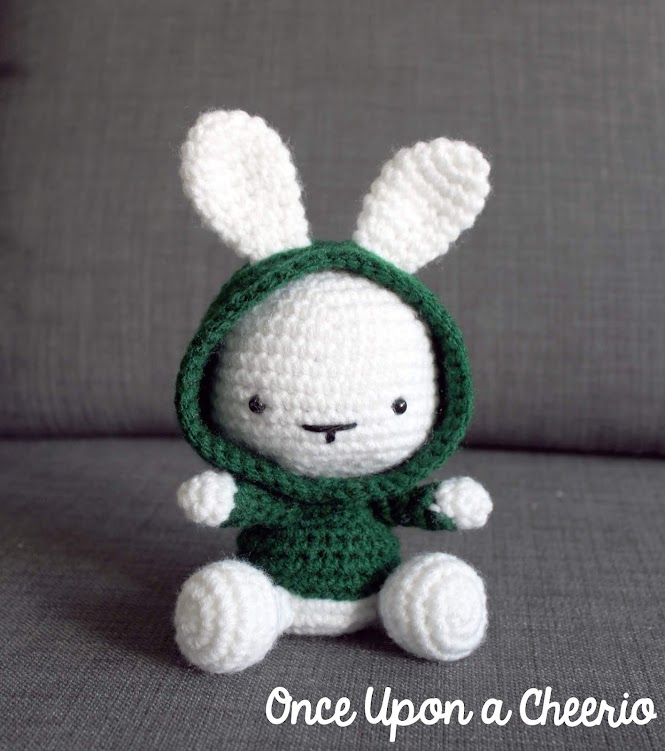 Some Bunny in the Hood Amigurumi FREE Crochet Pattern
